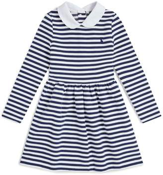 Polo Ralph Lauren Striped Peter Pan Collar Dress