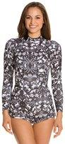 Cynthia Rowley Wildlife Print Wetsuit w/ Zip Side 8129049