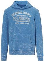 Denim & Supply Ralph Lauren Cotton Terry Graphic Hoodie