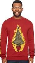 Volcom Men's Ugly Christmas Light up Sweater