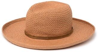 Frye Wide Brim Kettle Edge Straw Hat