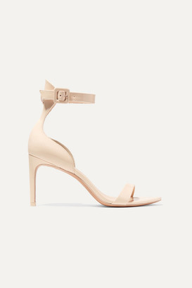 Sophia Webster Nicole Patent-leather Sandals - Neutral