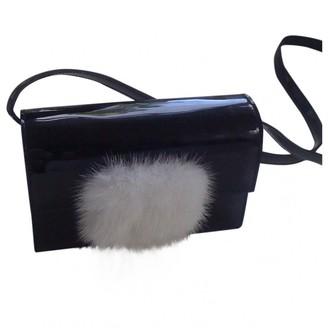 Saint Laurent Lulu Black Patent leather Handbags