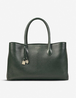 Aspinal of London London pebble leather tote bag