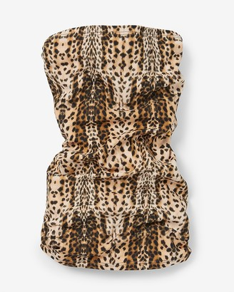 Express Leopard Print Face Covering