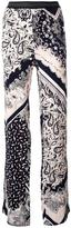Just Cavalli elasticated waistband printed trousers - women - Polyester/Viscose - 38