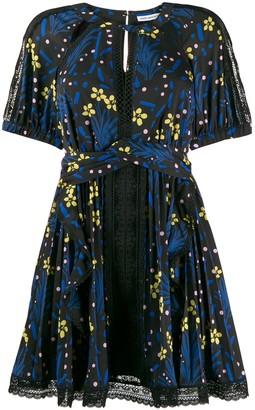 Self-Portrait floral print dress