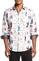 Robert Graham Men's Classic Fit Xmas Love Sport Shirt
