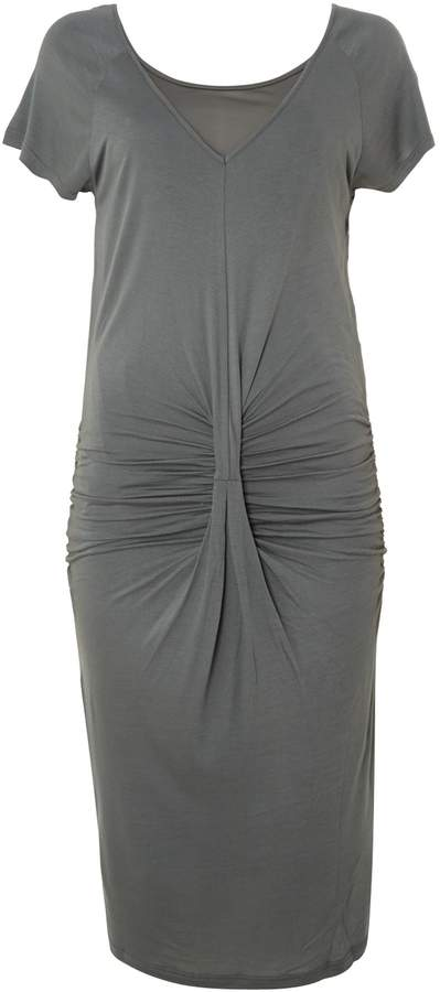 House of Fraser Y.A.S. Short sleeve drape front jersey dress