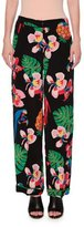 Valentino Tropical Dream Silk Pajama Pants, Multi