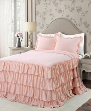Lush Decor Allison Ruffle 3-Piece Full Bedspread Set