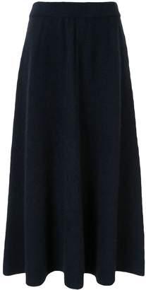 TOMORROWLAND flared midi knitted skirt