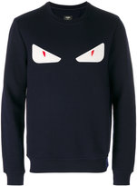 Fendi Eyes embroidered sweater
