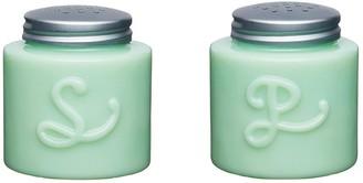 Kitchen Craft Milk Glass Salt and Pepper Shakers