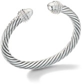 David Yurman Cable Classic Bracelet With Pave Diamonds