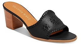 Jack Rogers Women's Rory Slip On Mid-Heel Sandals