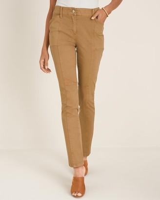 Chico's Secret Stretch Casual Utility Slim Pants
