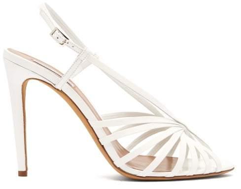 Sandals Womens Leather Patent Jazz White ikZOXPu