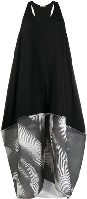 Stefano Mortari Mesh-Panelled Tent Dress