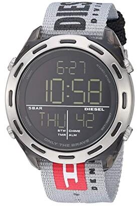 Diesel Crusher Digital - DZ1894 (Gray) Watches