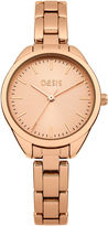 Oasis Rose Gold Tone Bracelet Watch