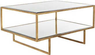 OKA Merle Coffee Table - Antiqued Glass