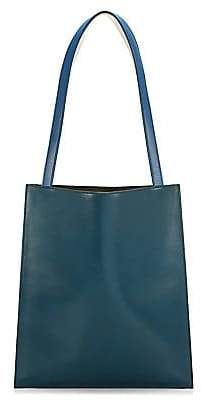 The Row Women's Multi Flat Leather Tote