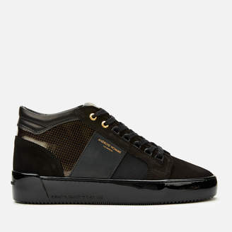 Android Men's Propulsion Mid Geo Trainers - Gold Black Gloss Carbon