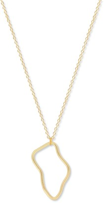 A Weathered Penny Gold Orla Necklace