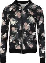 MBC-Womens Biker Celebrity MA1 Camouflage Floral Flower Print Bomber Jacket Zipper Coat Spring S 4-12 ( T/M-Miss Boho Chic (M/L, )