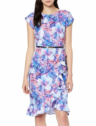 Paper Dolls Women's Floral Print Bodycon Dress