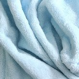 Single Piece King Aqua Microplush Blanket, Solid Color Pattern, Plush Youth, Fleece Material, Traditional Style, Extra Comfort, Knit Hem Edging For Durability & Style, Machine Washable, Sky Blue
