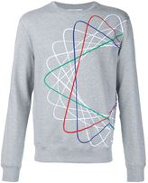 Carven spiral embroidered sweatshirt