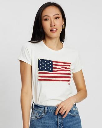 Polo Ralph Lauren Short Sleeve Flag Tee