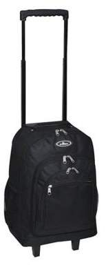 "Everest Wheeled Pattern Backpack 18"" x 7.5"" x 13.5"""