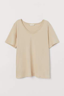 H&M MAMA Short-sleeved nursing top