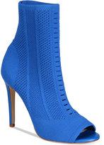 Aldo Women's Keshaa Peep-Toe Knit Bootie Women's Shoes