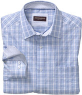 Johnston & Murphy Raised Wide Check Shirt