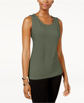 JM Collection Jacquard Tank Top, Created for Macy's