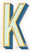 Anya Hindmarch K logo sticker