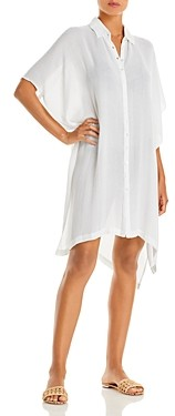 L-Space Anita Button Front Cover Up