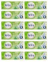 Veet 12x Hair Removal Cream Dry Skin for Under Arms, Legs & Bikini 25g UK Seller