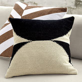 "CB2 Reflect 20"" Pillow With Feather Insert"
