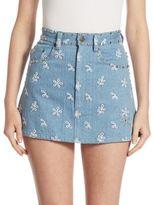 Marc Jacobs Studded Denim Mini Skirt