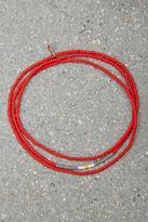 Forever 21 FOREVER 21+ Bead Relief Wrap Bracelet