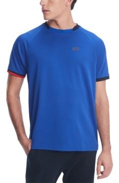 Tommy Hilfiger Men's Allen Custom-Fit Colorblocked Performance Polo Shirt