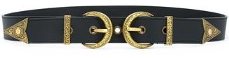 Versace Double-Buckle Belt
