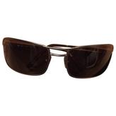 Prada Silver Metal Sunglasses
