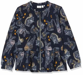 Name It Girl's Bi Pack Brazilian Brief Visibility Iconic Logoband Sweat Jacket