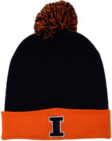 Top of the World Illinois Fighting Illini 2-Tone Pom Knit Hat